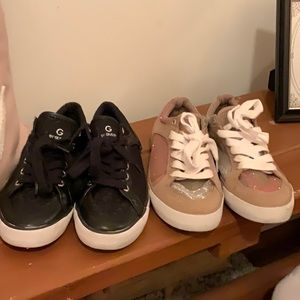 G by guess 2 pairs of sneakers